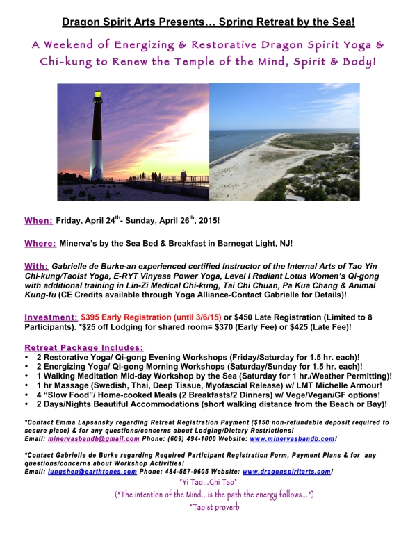 Retreat by the Sea2015